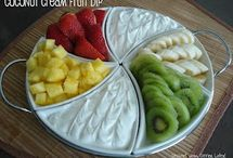 Food-FRUITS & stuff MADE W/FRUIT / by Susan Bertucci