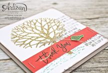 Thoughtful Branches by Stampin Up! / Cards and projects made with the Thought Branches