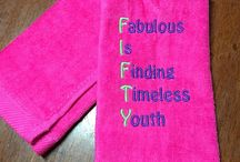 Fitness towels / Workout towels