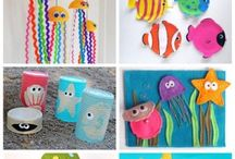 maddies board / Ocean crafts ready for your classroom