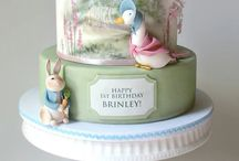 Beatrix Potter Cake Ideas / Beatrix Potter, Peter Rabbit, Flopsy Bunny, radish, cake, book characters, cookies