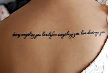 Tattoo ideas / by lori wiseman