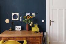 Raumgestaltung, Farben, Materialien