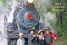 Highland Adventures Magazine / A new travel guide published for the Durbin & Greenbrier Valley Railroad offers rates, schedules and regional travel and attraction information for 2014.  http://issuu.com/dgvr/docs/highland_adventures8