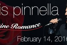 CHRIS PINELLA / This Valentine's Day, nationally acclaimed vocalist and NJ native Chris Pinnella and his orchestra will perform some of the most beautiful & iconic melodies ever written. Pinnella has received rave reviews for his soaring, rich baritone voice and as a vocalist with the platinum selling Trans-Siberian Orchestra.