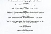 Baby Daily Routine