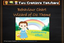 Behaviour Charts / A selection of Behaviour charts to help manage and organise the classroom.