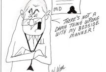 """Health Care Cartoons / One of my niche speaking markets is health care...nurses, doctors, nursing home staffs, etc. My cartoon book """" Isn't That the Truth""""   contains over 40 original health care cartoons for their use and enjoyment."""