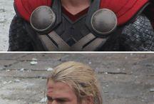 Thor/Loki / #Thor #Loki #Gods #Love #Marvel #FanGirl #Tom #Chris #;3
