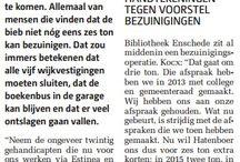 Bezuinigingen Bibliotheek Enschede