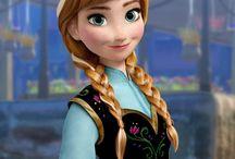 Anna / Anna 'da karlar ülkesi 'nde elsa nın kız kardeşi