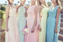 Bridesmaids |Traje das Madrinhas