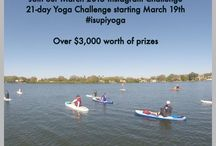 Win Some Sawyer Gear / Join our March 21-day #isupiyoga challenge for a chance to win over $3,000 worth of SUP & Yoga Teacher Training, an inflatable paddleboard package and 3 pc Sawyer Travel paddle!