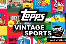Topps Vintage Sports / WALLS 360 x Topps Sport Wall Graphics: http://www.walls360.com/category-s/2327.htm