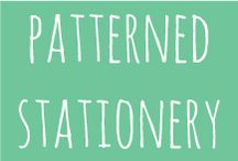 pattern⎢stationery / beautiful patterns in Stationery