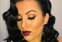 Bloody make-up