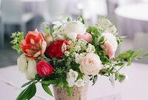 Blush + Burgundy Floral