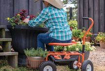 Accessible Gardening / Ways to make gardening easier and more enjoyable for those with mobility issues and other limitations.