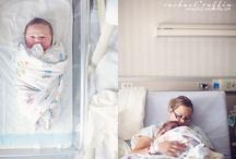 newborn in hospital / by Heidi Adams