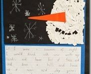 Christmas writing projects