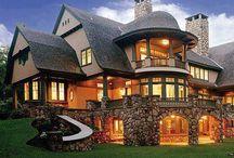 DOMY, rezydencje, domy z bali