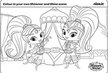 Shimmer and Shine pages