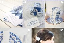 Navy Blue Wedding / Ideas for a Navy Blue Wedding