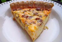 Recepten: Quiche/Hartige & Plaattaart/Pizza
