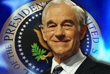 Vote Ron Paul! Restore America and OUR Constitution! / by Lisa Prom