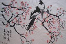 Illustration asiatique / Illustrations inspirées ou relatives à la thématique orientale