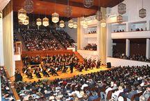 Donde vive la música / Auditorios, teatros, salas de conciertos...