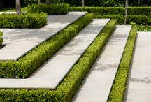 nowoczesny ogród formalny