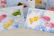 Rainbow Fish / by Nicki Rolling