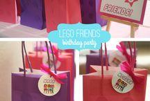 Megan 9 Bday Lego party