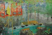 Pintores chinos contemporáneos