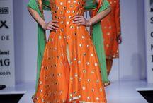 mehendi and indian fashion