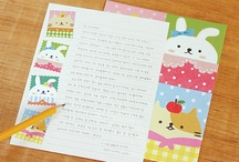 Cards, mail & postals / Cartas, postales y paquetes. / by Karlota