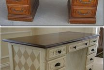get this :) / Desk ideas / by Barb Lier Delaney