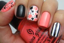 Mixed Bag Nails / by Stephanie Michael