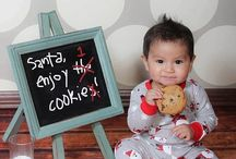Photos de bébé - Noël