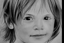 portrait enfant dessin