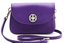 Purple Bags, Purses, luggage / by Anniesee Williams