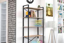 Kitaplıklar - Endustriyel Mobilya