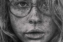 Killer Pencil Portraits