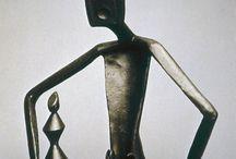 Chess sculptures