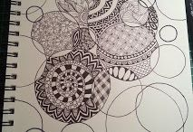 Crafty Crafts - Zentangle / by Samie Ireland