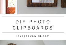 DIY Unique Framing / Hanging