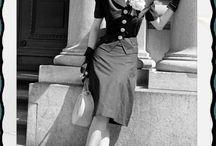 mode années 40