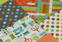 Sew Simple / Fabric collection designed by Makower UK
