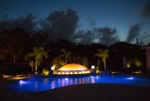 Celebrate New Year's Eve by the Swimming Pool